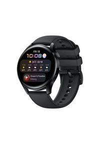 HUAWEI - Smartwatch Huawei Watch 3 Sport LTE. Rodzaj zegarka: smartwatch. Materiał: skóra, materiał. Styl: sportowy