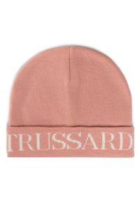 Różowa czapka zimowa Trussardi Jeans