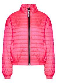 Ice Play Kurtka bomber 21E U2M0 J011 6409 4323 Różowy Regular Fit. Kolor: różowy