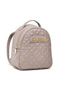Love Moschino - Plecak LOVE MOSCHINO - JC4134PP1DLA0001 Grigio. Kolor: beżowy. Materiał: skóra. Styl: klasyczny, elegancki
