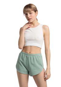 MOE - Bawełniany Krótki Top - Biały. Kolor: biały. Materiał: bawełna. Długość: krótkie