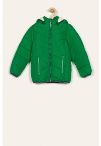 Zielona kurtka Name it z kapturem