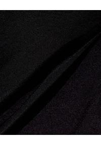 GAUGE81 - Czarna spódnica Nagato. Kolor: czarny. Materiał: jedwab. Styl: wizytowy #5