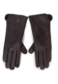 EMU Australia Rękawiczki Damskie Moranbah Gloves Brązowy. Kolor: brązowy