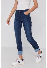 Mustang - Jeansy Sissy Slim S&P. Kolor: niebieski
