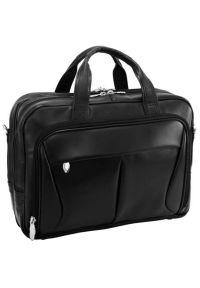 Czarna torba na laptopa MCKLEIN #10