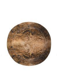 Burberry - BURBERRY - Dwustronny kapelusz typu bucket. Kolor: brązowy. Materiał: bawełna. Wzór: motyw zwierzęcy, aplikacja, kratka, nadruk