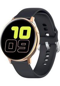 Smartwatch Pacific 24-4 Czarny (PACIFIC 24-4 czarny). Rodzaj zegarka: smartwatch. Kolor: czarny