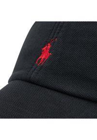 Polo Ralph Lauren - Czapka z daszkiem POLO RALPH LAUREN - Classic Sport Cap 710834740002 Black. Kolor: czarny. Materiał: materiał, bawełna. Styl: sportowy