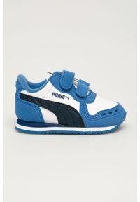 Buty sportowe Puma z cholewką, na rzepy