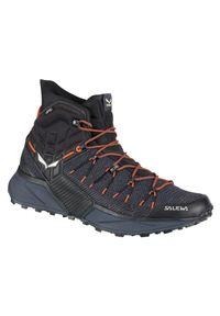 Buty trekkingowe męskie Salewa MS Dropline Mid 61386. Zapięcie: sznurówki. Materiał: guma. Szerokość cholewki: normalna. Sport: turystyka piesza