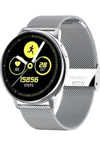 Smartwatch Pacific 24-11 Srebrny (PACIFIC 24-11 srebrna siatka). Rodzaj zegarka: smartwatch. Kolor: srebrny