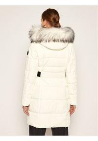 Beżowa kurtka puchowa DKNY