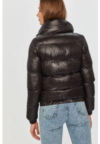 Czarna kurtka Answear Lab bez kaptura, na co dzień