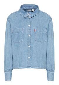 Levi's® Koszula jeansowa Zoey 29431-0007 Niebieski Regular Fit. Kolor: niebieski. Materiał: jeans