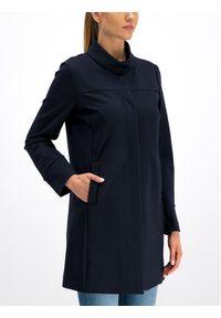 Niebieski płaszcz przejściowy Geox