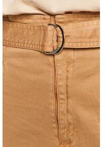 Beżowe jeansy TALLY WEIJL z podwyższonym stanem