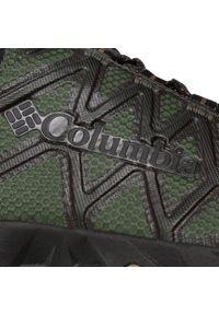 Zielone buty trekkingowe columbia z cholewką, trekkingowe
