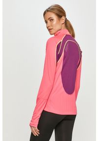 Różowa bluza rozpinana Viking na co dzień, casualowa, bez kaptura