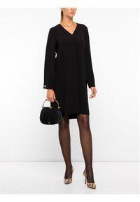Czarna sukienka koktajlowa Laurèl wizytowa