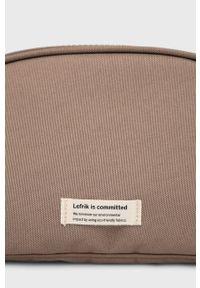 Lefrik - Kosmetyczka. Kolor: brązowy. Materiał: poliester