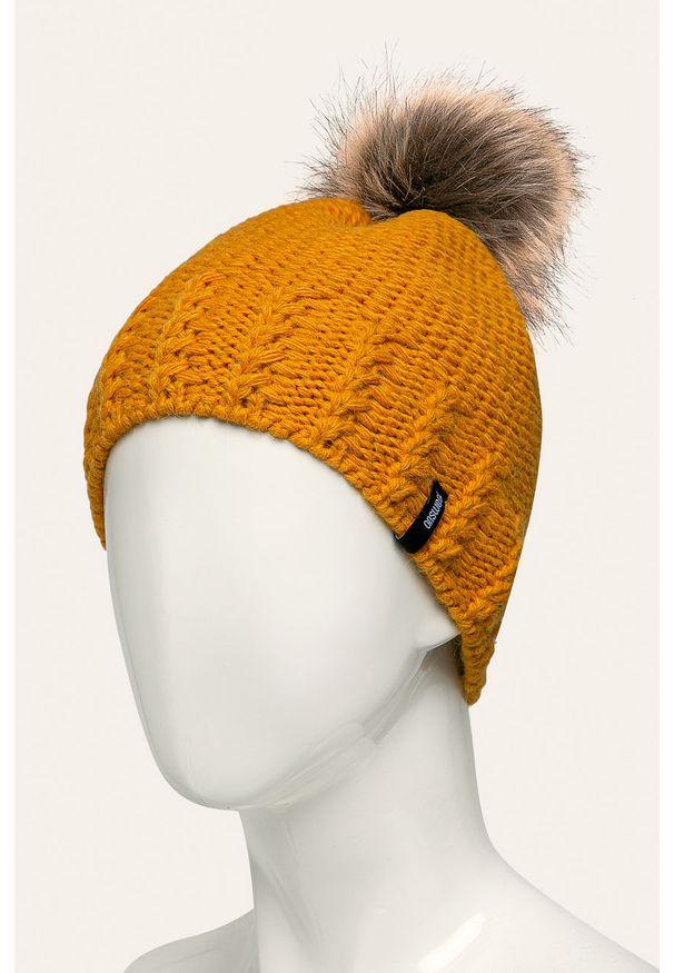 Żółta czapka ANSWEAR