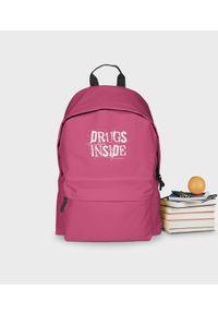 Różowy plecak MegaKoszulki