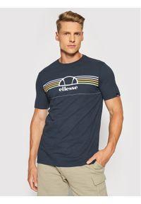 Ellesse T-Shirt Lentamente Tee SHJ11918429 Granatowy Regular Fit. Kolor: niebieski