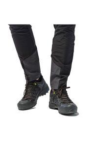 Spodnie trekkingowe męskie Salewa Agner Orval 26940. Materiał: materiał, elastan, tkanina, softshell, poliamid, poliester. Sport: wspinaczka