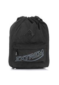 Czarny plecak EXTREM