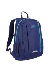 Plecak COLEMAN Magi City 15 Granatowy. Kolor: niebieski. Materiał: nylon, poliester