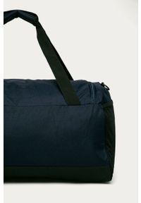 Niebieska torba podróżna Puma gładkie