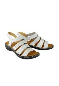 Srebrne sandały Artiker Relaks