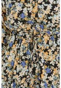 Wielokolorowa sukienka Answear Lab mini, na co dzień, w kwiaty