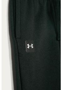 Czarne spodnie dresowe Under Armour gładkie #3