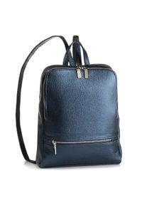 Creole - Plecak CREOLE - K10505 Ciemny Niebieski. Kolor: niebieski. Materiał: skóra. Styl: klasyczny