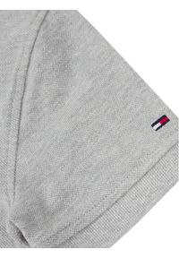 Szary t-shirt polo TOMMY HILFIGER polo