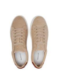 Sneakersy GANT - Mc Julien 22633653 Sand G25. Okazja: na spacer, na co dzień. Kolor: beżowy. Materiał: skóra, zamsz. Szerokość cholewki: normalna. Styl: klasyczny, sportowy, casual