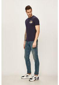 Niebieskie jeansy Only & Sons z aplikacjami