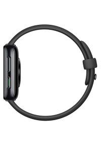 Czarny zegarek OPPO smartwatch, elegancki