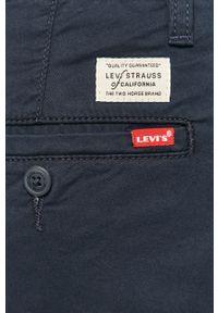 Niebieskie spodnie Levi's® na spotkanie biznesowe, gładkie, biznesowe