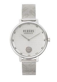 Versus Versace - Zegarek VSP1S1420. Kolor: srebrny. Materiał: materiał