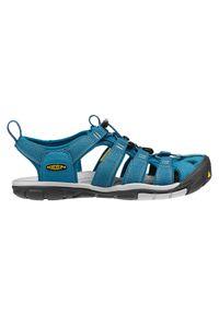 keen - Sandały Keen Clearwater W 1012538. Nosek buta: otwarty. Materiał: skóra, materiał, guma