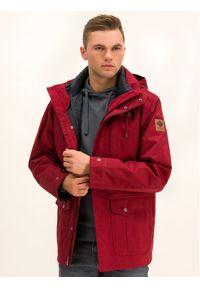 Czerwona kurtka przejściowa columbia