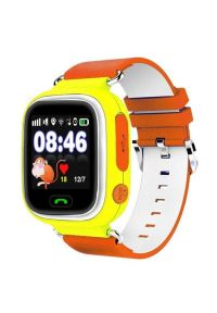 Pomarańczowy zegarek GARETT smartwatch