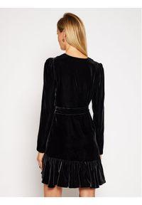 Czarna sukienka koktajlowa Pinko wizytowa