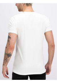 Biały t-shirt Plein Sport sportowy