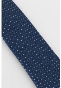 Calvin Klein - Krawat. Kolor: niebieski