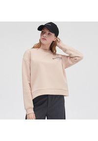 Cropp - Bluza z nadrukiem - Beżowy. Kolor: beżowy. Wzór: nadruk