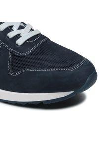 s.Oliver - Sneakersy S.OLIVER - 5-13626-26 Navy 805. Kolor: niebieski. Materiał: skóra, nubuk, zamsz. Szerokość cholewki: normalna